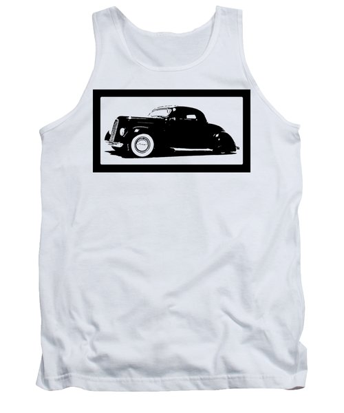1936 Ford Custom Tee Tank Top