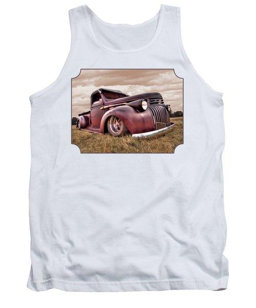 1941 Rusty Chevrolet Tank Top by Gill Billington