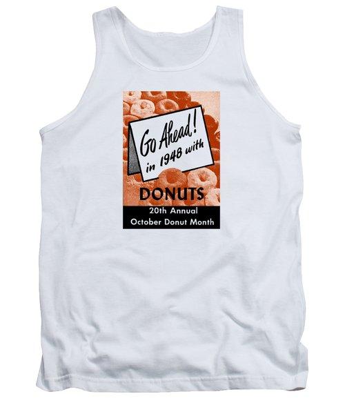 1948 Donut Poster Tank Top
