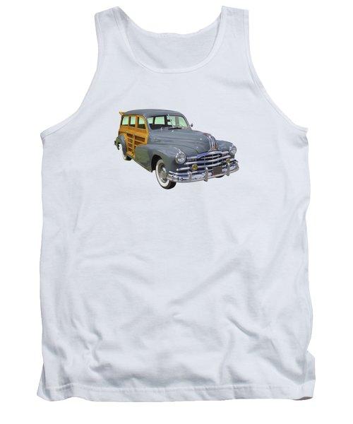 1948 Pontiac Silver Streak Woody Tank Top