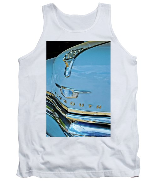 Tank Top featuring the photograph 1950 Plymouth Coupe by Linda Unger
