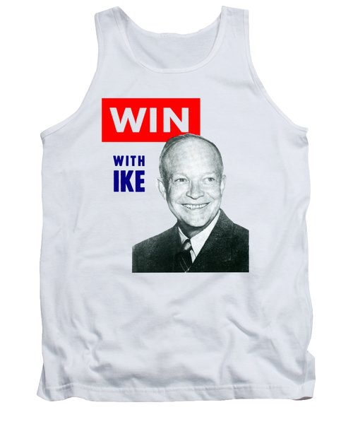 1952 Win With Ike Tank Top