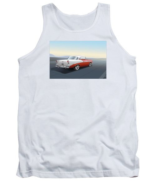 1956 Chevrolet Bel Air Tank Top by Marty Garland