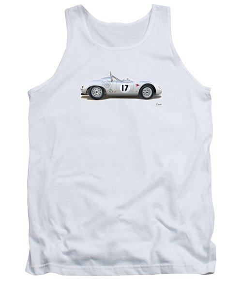 1959 Porsche Type 718 Rsk Spyder Tank Top by Alain Jamar