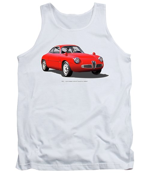 1960 Alfa Romeo Zagato Giulietta Sprint Tank Top