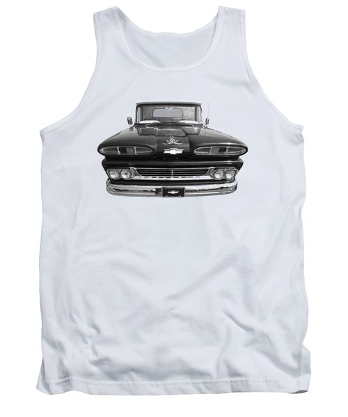 Tank Top featuring the photograph 1960 Chevy Truck by Gill Billington
