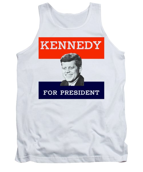 1960 Kennedy For President Tank Top