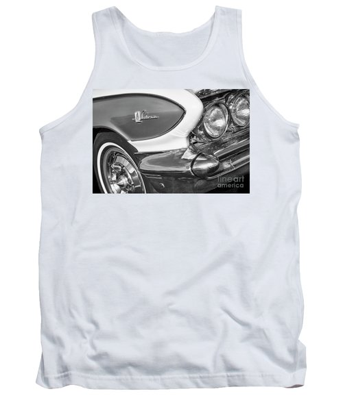 Tank Top featuring the photograph 1961 Le Sabre Monotone by Dennis Hedberg