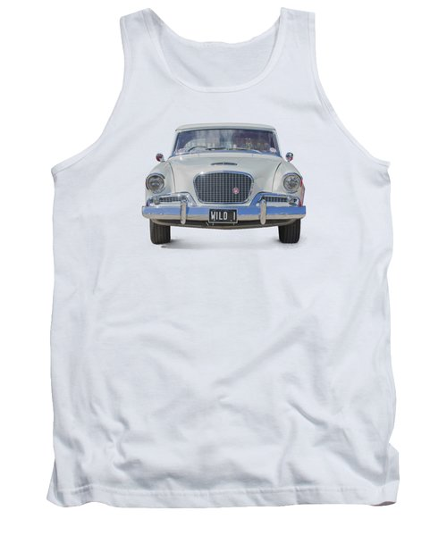 1961 Studebaker Hawk On A Transparent Background Tank Top
