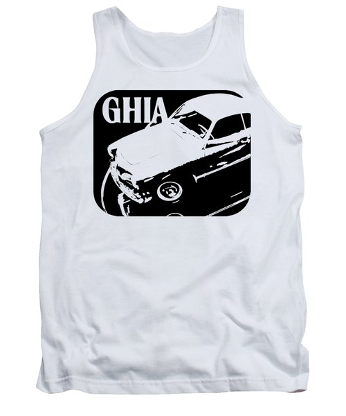 1962 Karmann Ghia Pop Art Tee Tank Top