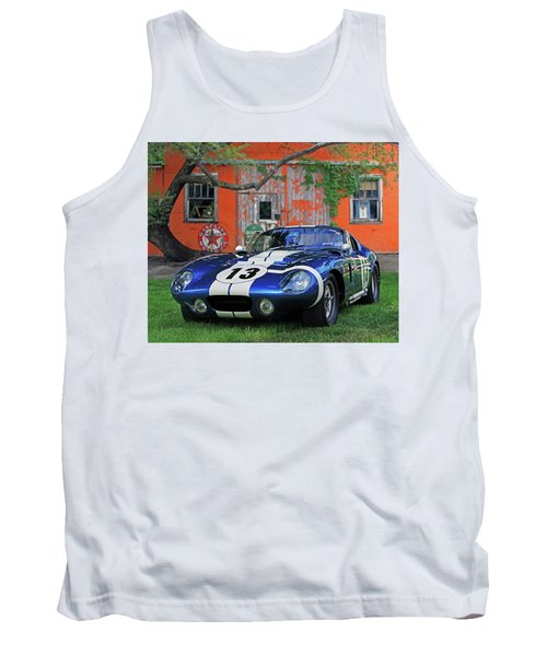Tank Top featuring the photograph 1964 Cobra Daytona Coupe by Christopher McKenzie