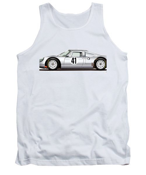 1964 Porsche 904 Carrera Gts Tank Top