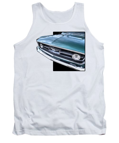 1967 Mustang Grille Tank Top by Gill Billington