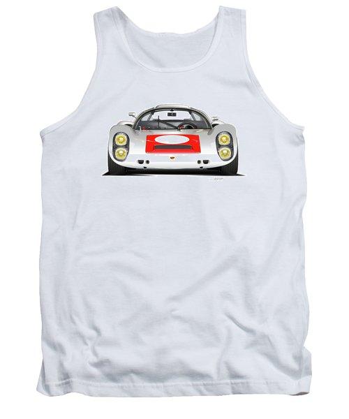 1967 Porsche 910 Illustration Tank Top