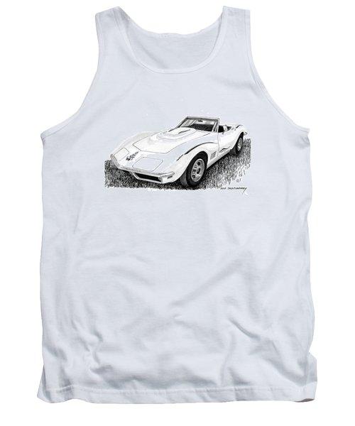 1968 Corvette Tank Top by Jack Pumphrey