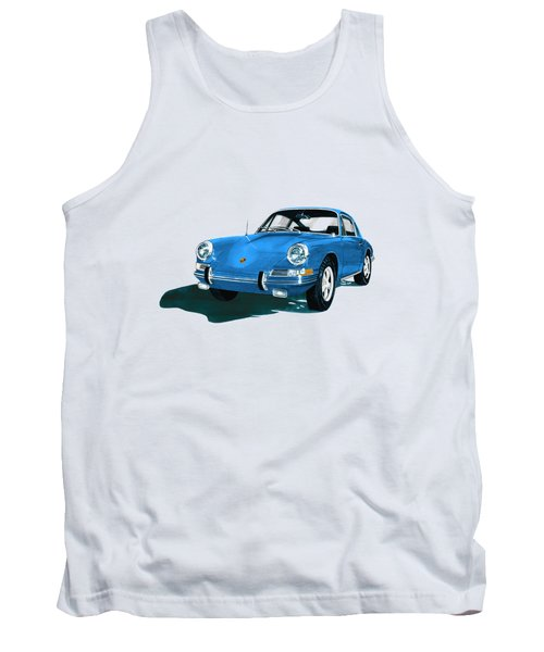 Porsche 911 1968 Tank Top