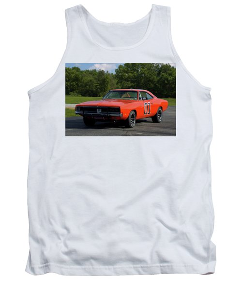 1969 Dodge Charger Rt Tank Top by Tim McCullough