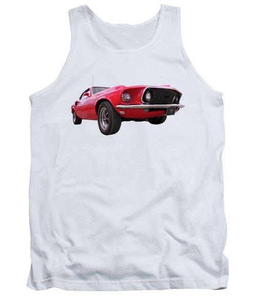 1969 Mustang At Sunset Tank Top
