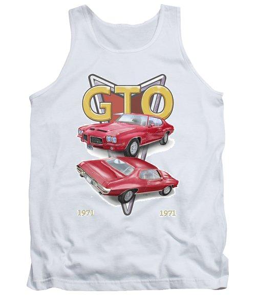 1971 Pontiac Gto Tank Top