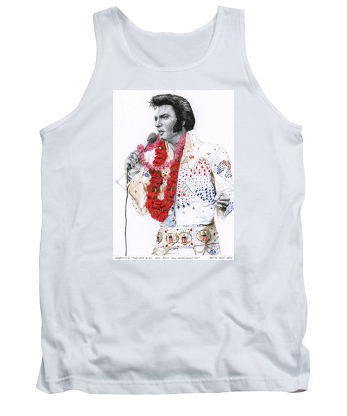 1973 Aloha Bald Headed Eagle Suit Tank Top