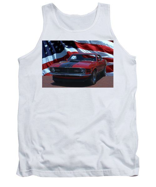 1970 Mustang Mach I Tank Top by Tim McCullough
