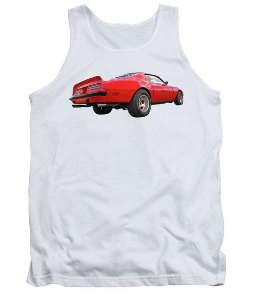 1974 Pontiac Firebird Formula 400 Rear Tank Top