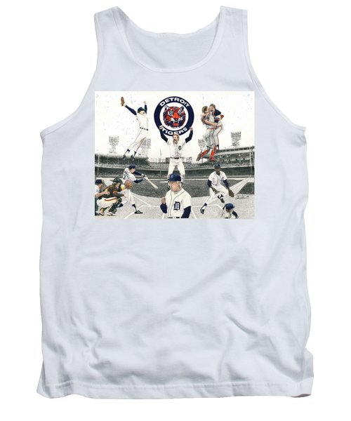1984 Detroit Tigers Tank Top