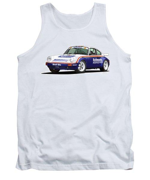 1984 Porsche 911 Sc Rs Illustration Tank Top