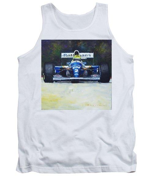 1994 Ayrton Senna Williams Renault Fw16 Tank Top