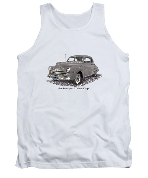 1946 Ford Special Deluxe Coupe Tank Top