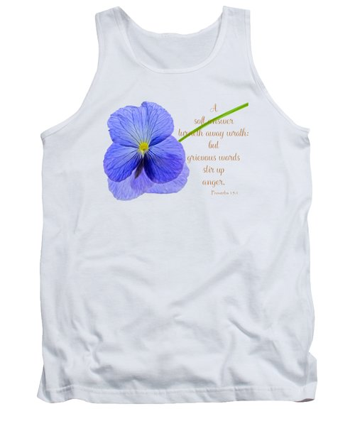A Soft Answer Tank Top
