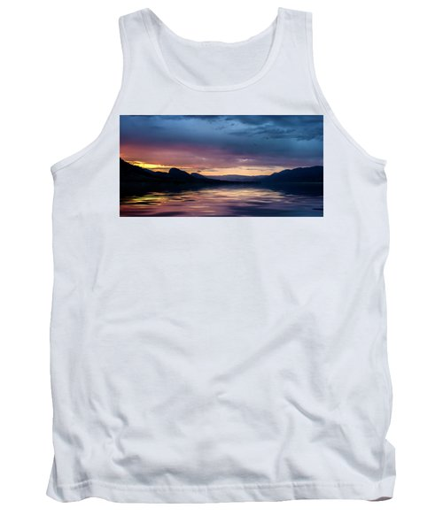 Tank Top featuring the photograph Across The Clouds I See My Shadow Fly by John Poon