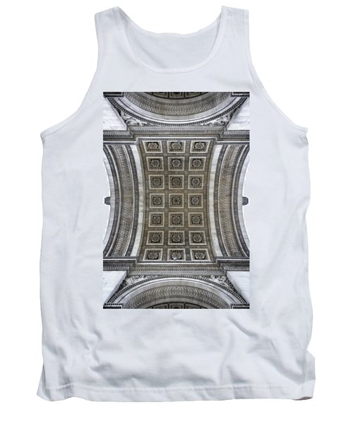Arc De Triomphe Detail Tank Top