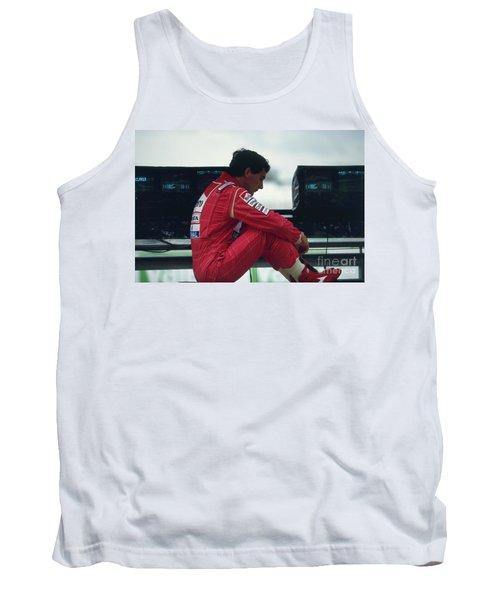 Ayrton Senna. 1992 French Grand Prix Tank Top