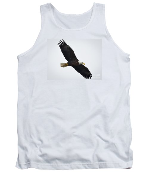 Tank Top featuring the photograph Bald Eagle by Ricky L Jones