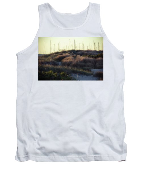 Beach Houses And Dunes Tank Top