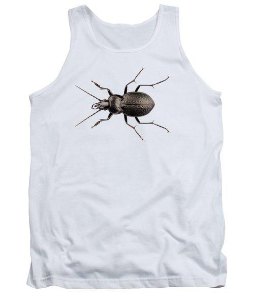 Beetle Species Carabus Coriaceus Tank Top
