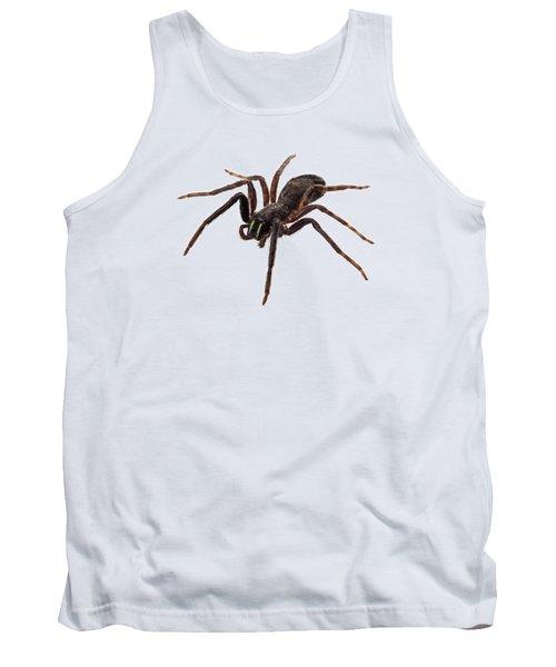 Black Spider Species Tegenaria Sp Tank Top