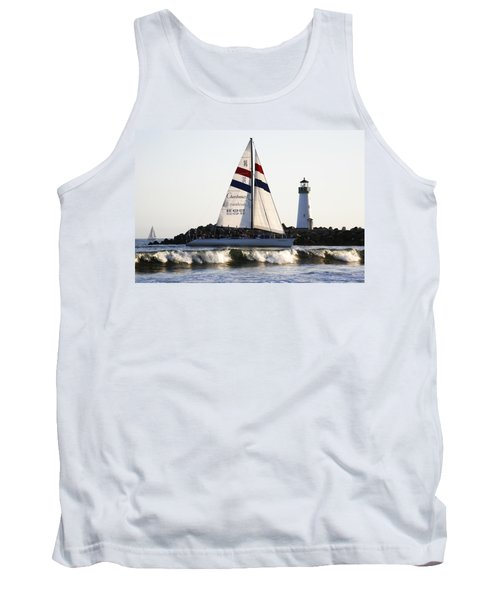2 Boats Approach Tank Top