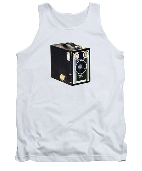 Tank Top featuring the photograph Brownie Target Six-16 by Bill Cannon