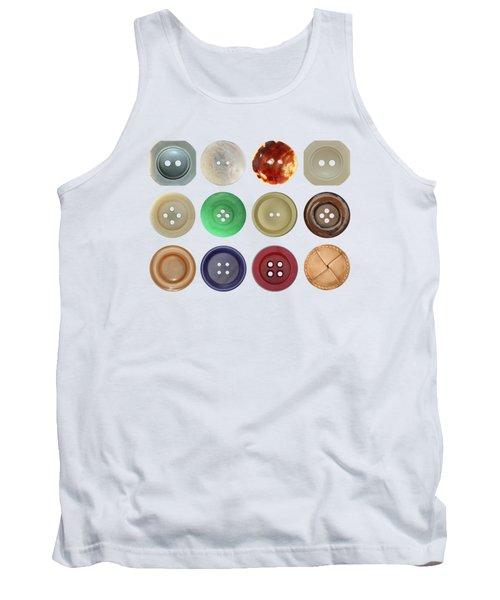 Buttons Tank Top