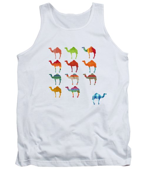 Camels Tank Top by Art Spectrum