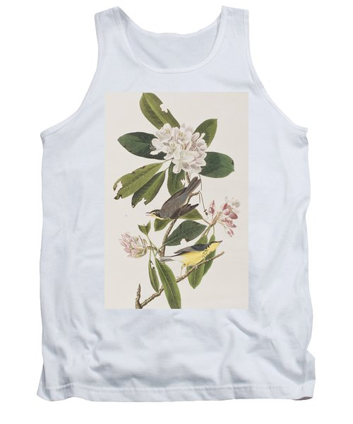 Canada Warbler Tank Top by John James Audubon