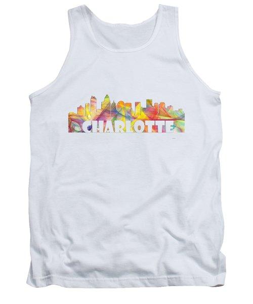 Charlotte Nc Skyline Tank Top