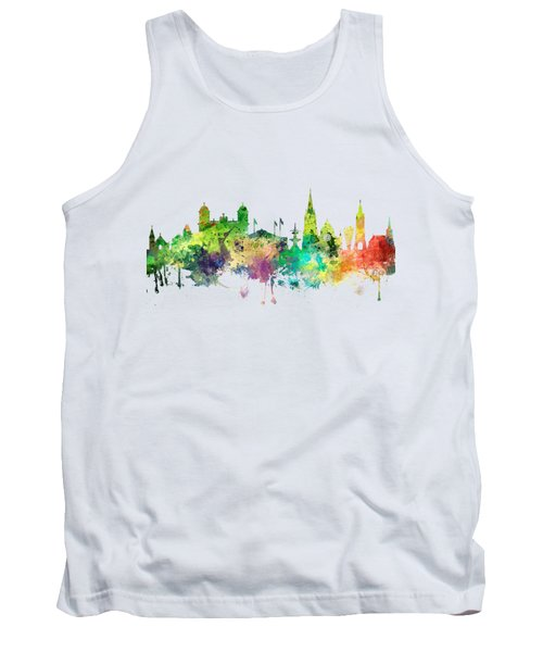 Christchurch Nz Skyline Tank Top