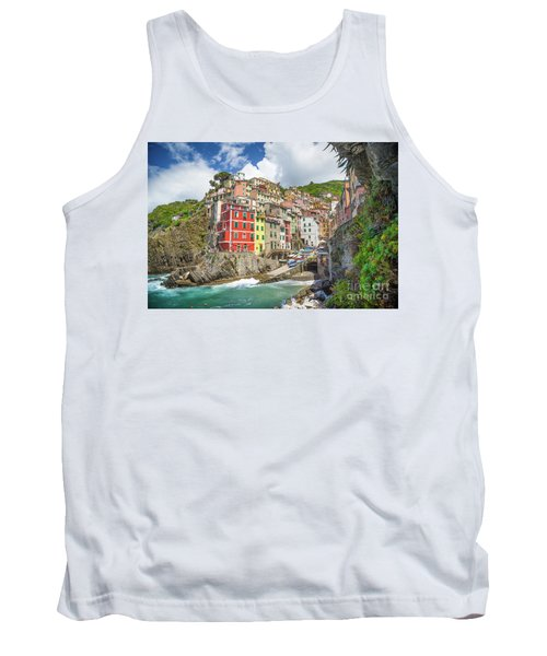 Colors Of Cinque Terre Tank Top by JR Photography