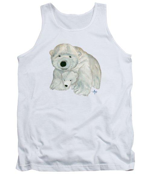 Cuddly Polar Bear Tank Top