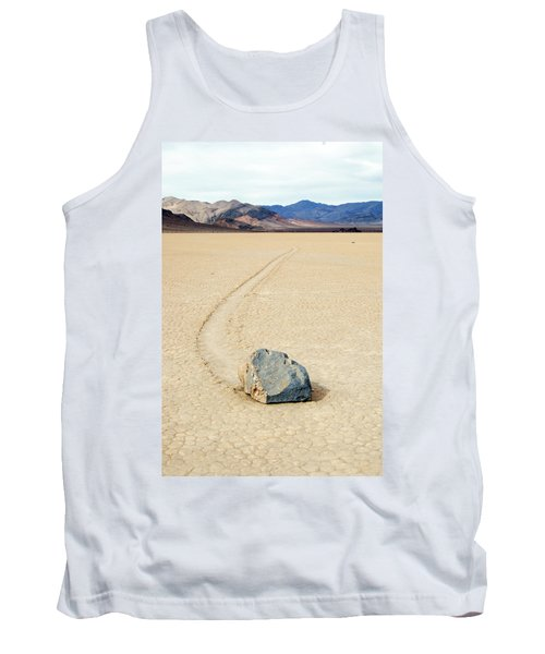 Death Valley Racetrack Tank Top by Breck Bartholomew