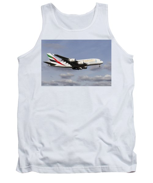 Emirates A380 Airbus Tank Top