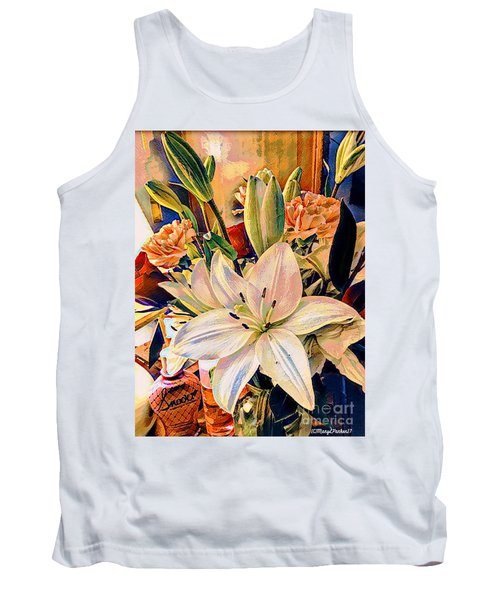 Flowers For You Tank Top by MaryLee Parker